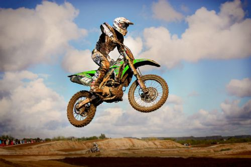 Motocross Extreme Sports  Canvas Framed Wall Art - 31